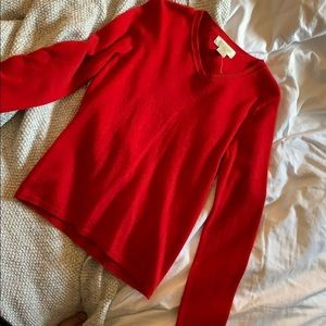 Peck & Peck cashmere sweater SP red